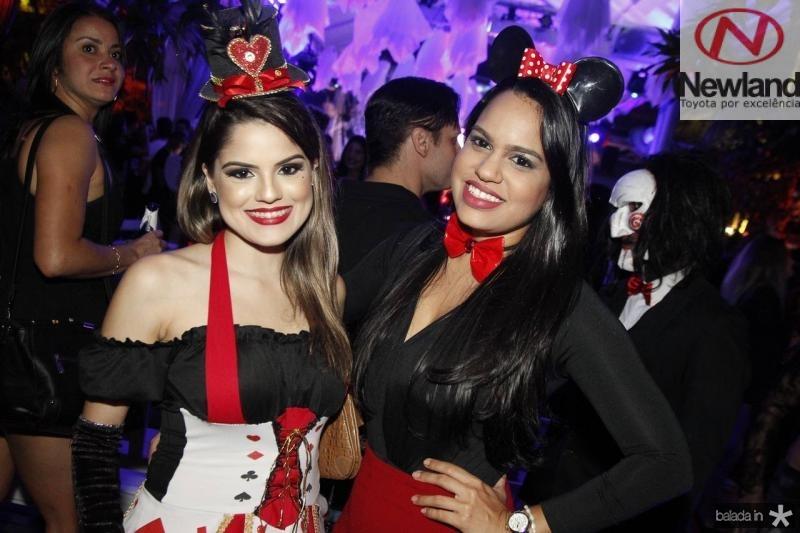 Nikaela Albuquerque e Graziela Viana