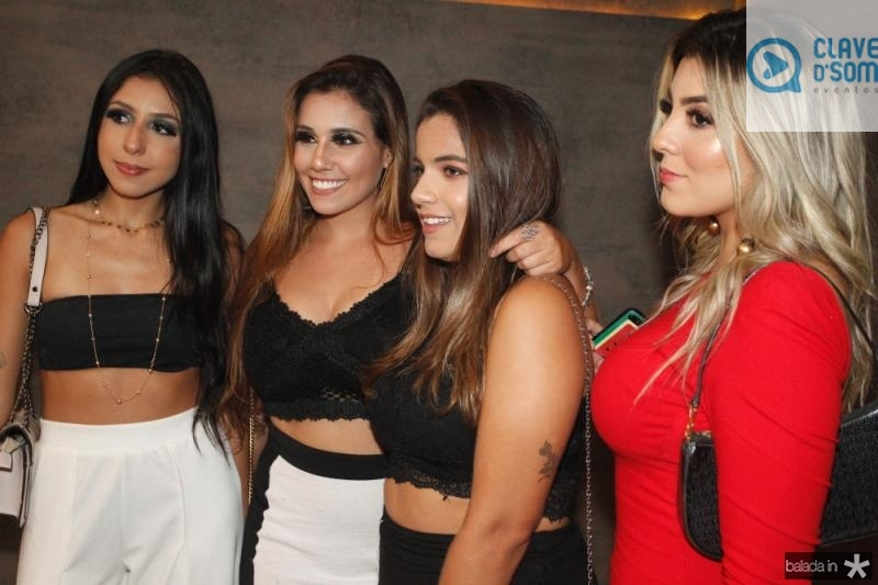Libia Sales, Julia Freitas, Julia Feitosa e Luciana Nobre