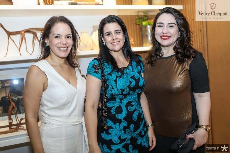 Raquel Cerejo, Paola Lopes e Rochele Aguiar