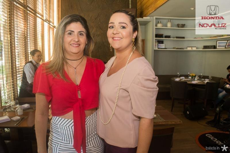 Silvana Alencar e Sheslyba Farias