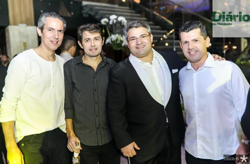 Leo Alcantara, Chicao Cavalcante, Mario Queiros e Erick Vasconcelos
