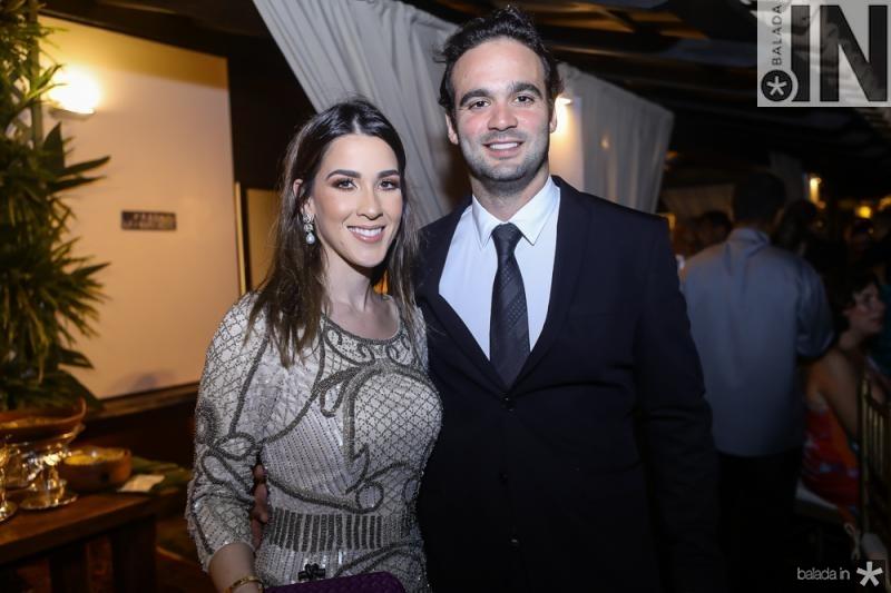 Sarah Brasil e Lucas Asfor