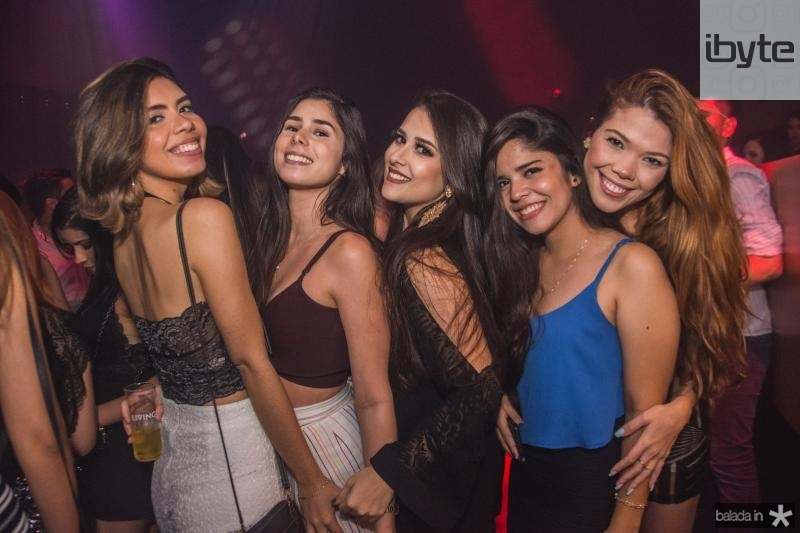 Bianca Aragao, Leticia Vieira, Thaise Duarte, Thaina Onofre e Michele Martins