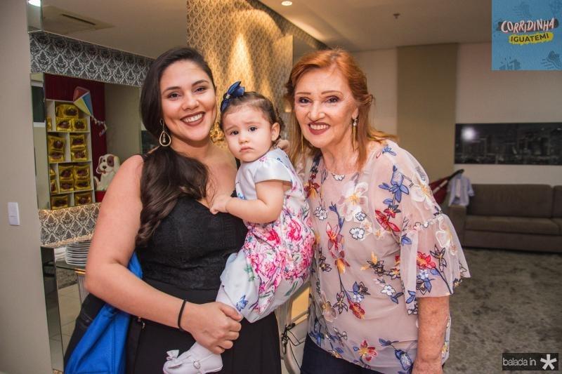 Ivania, Tamara e Larisse Cavali