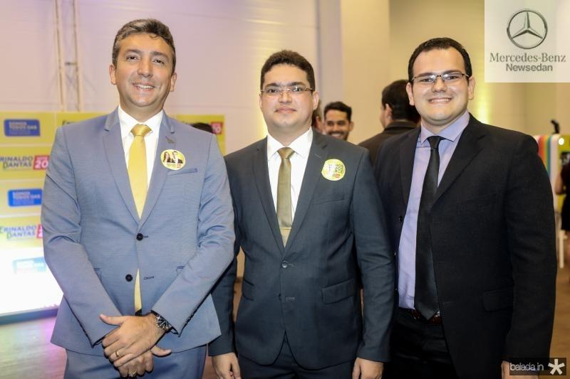 Cicero Cleano, Wesley Nobre e Henrique Froid