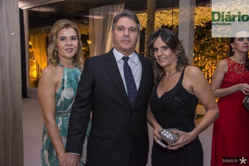 Alice Machado, Joao Claudio Machado e Patricia Franca