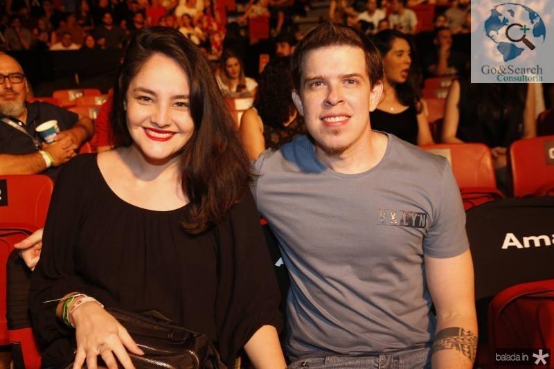 Amanda Araujo e Vitor Almeida