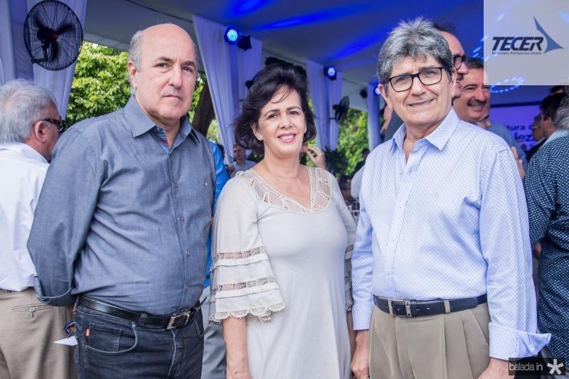 Silvio Frota, Neuma Figueiredo e Jose Augusto Bezerra