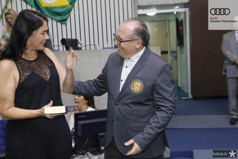 Isabella Fiuza e Padre Eugenio