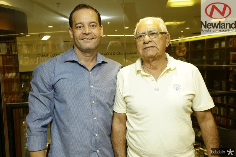 Claudio Pimenta e Mauro Jander
