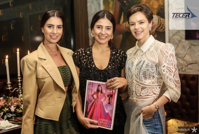 Nicole Pinheiro, Alice Ferraz e Paula Sampaio