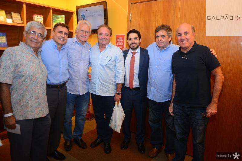 Carlos Bezerra, Pedro Lima, Marcio Gomes, Chiquinho Araga?o, Fernando Vitor, Totonho Laprovitera, Silvio Frota