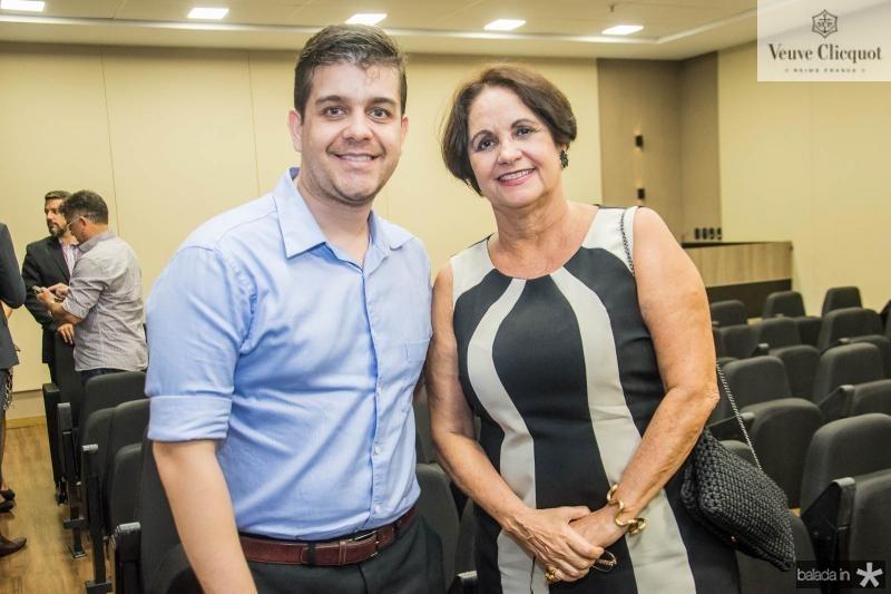Marcos Barroso e Norma Maranhao