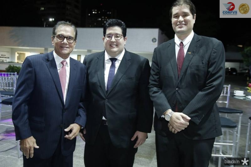 Beto Studart, Yuri Torquato e Fernando Laureano
