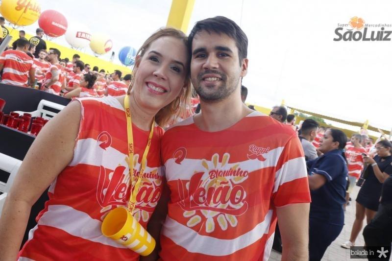 Luciana e Lucas Pearce