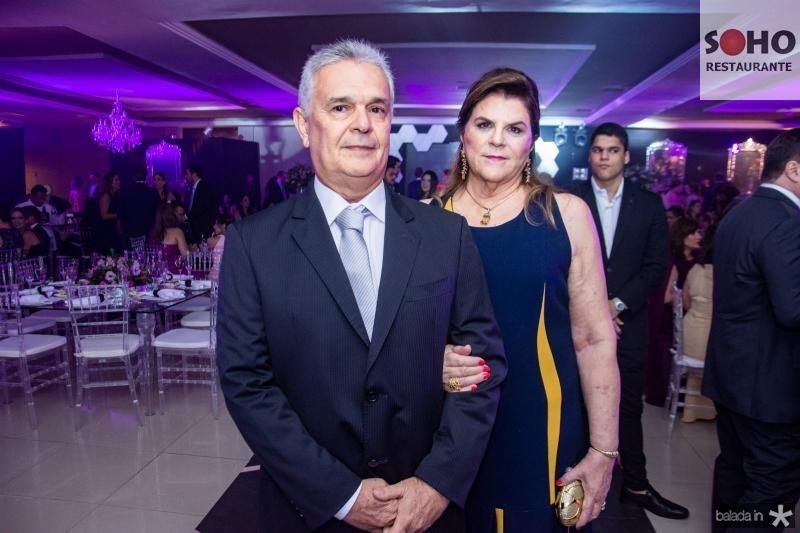 Manoelito Almeida e Maria de Lourdes Magalhaes