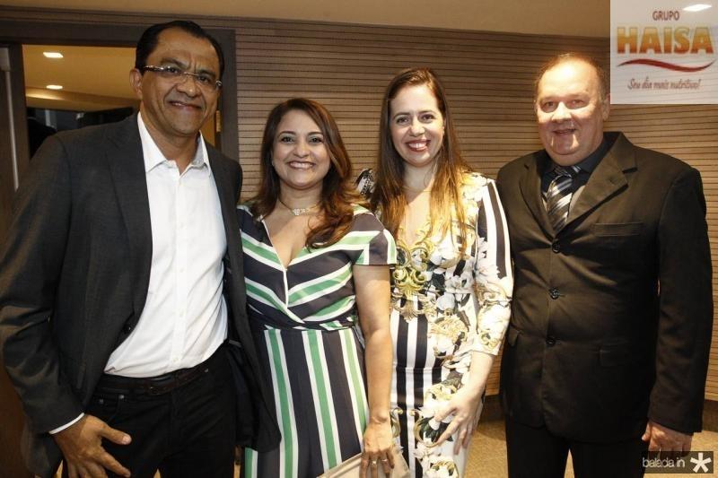 Carlos e Vilma Mendonca, Ticiane e Helder Callou