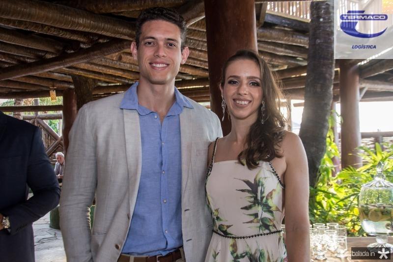 Samuel Magalhaes e Camila Thiemi