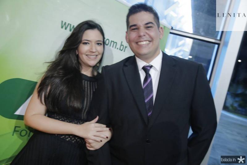 Marilia Torquato e Arthur Viana