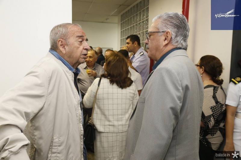 Ednilo Soarez e Victor Frota