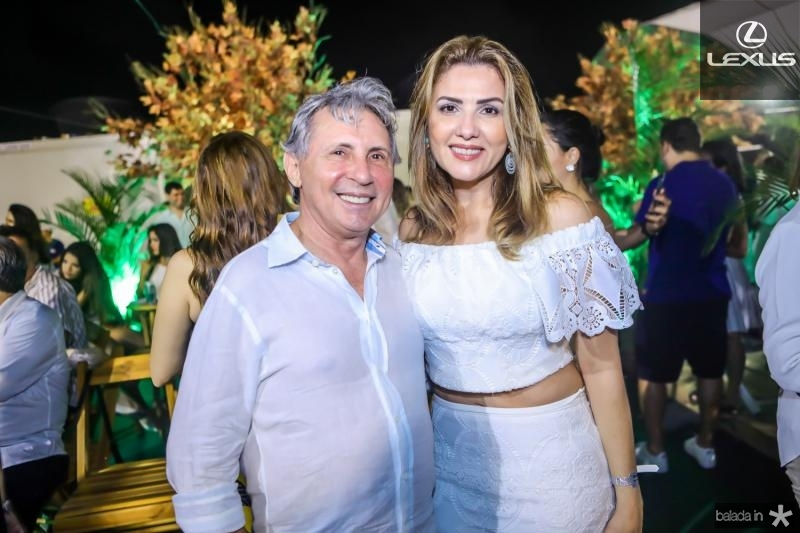 Vilmar e Ferreira e Luiza Caminha