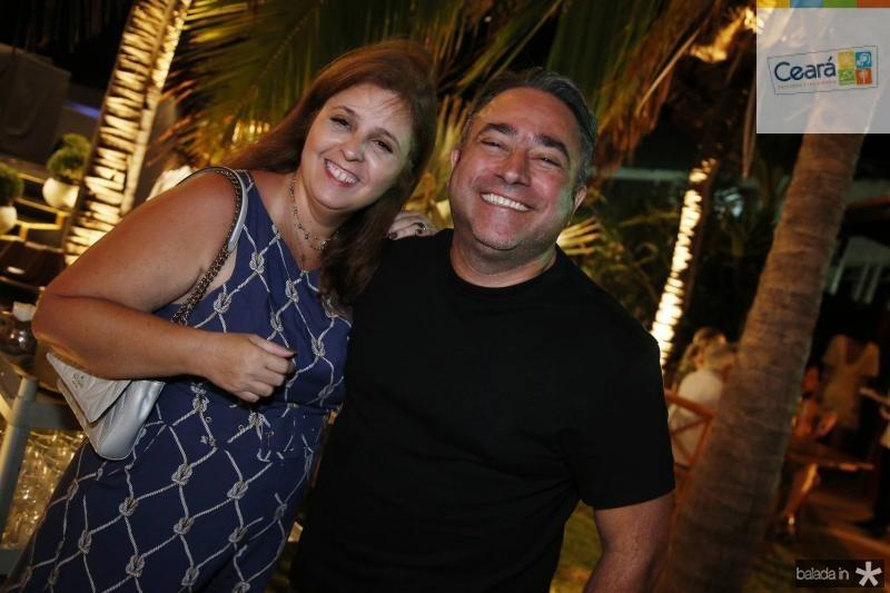 Valeria e Jose Walter Mannarino
