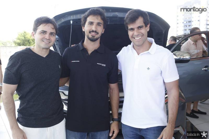 Reno Bertozi, Lucas Rolim e Alan Oliveira