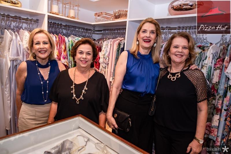 Maria Helana, Julia Philomeno, Ana Lucia Cabral e Claudia Vasconcelos