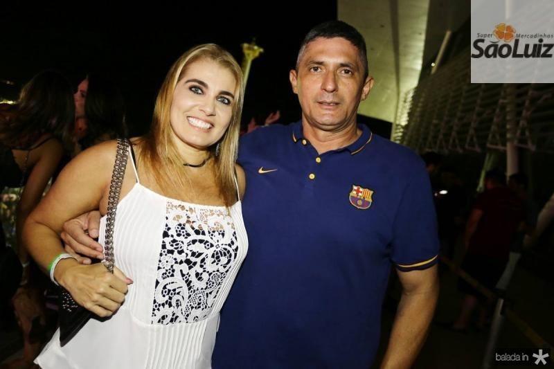 Rosamelia e Aginaldo Oliveira