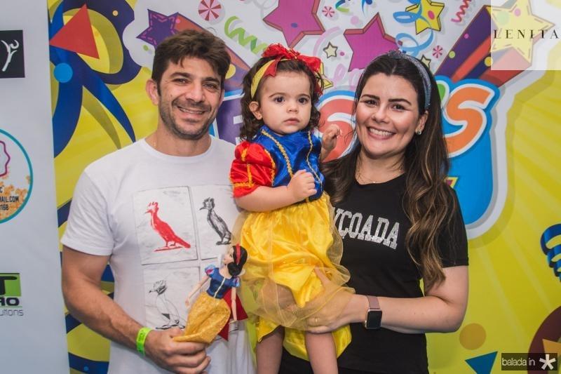 Alexandre, Ines e Marcela Maporunga