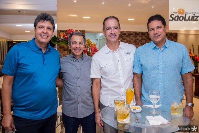 Marcos Oliveira, Eduardo Rolim, Regis Medeiros e Marcus Medeiros