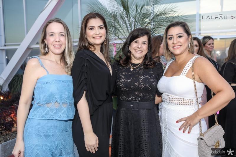 Erika Figueiredo, Emmanuelle Milfont, Luciana Lobo e Andrea Coelho