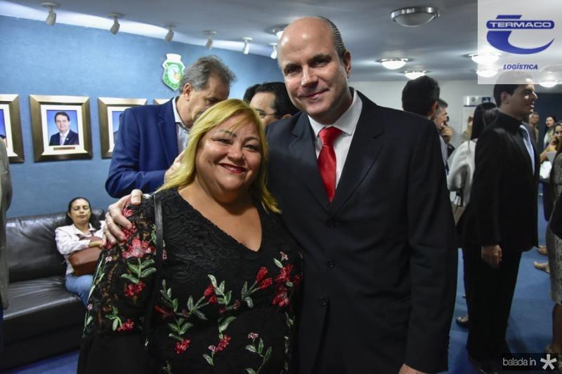 Regane Sousa e Luiz Eugenio Franca
