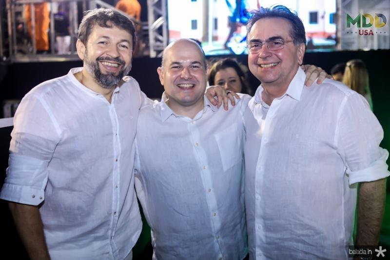 Elcio Batista, Roberto Claudio, Leonidas Cristino e Odorico Monteiro