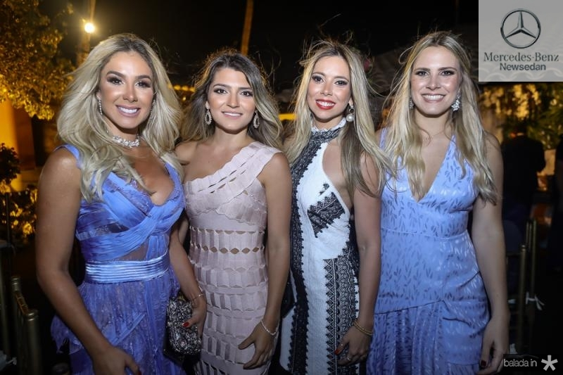 Priscila Silva, Juliana Gouveia, Fabiana Hirata e Rafaela Basto