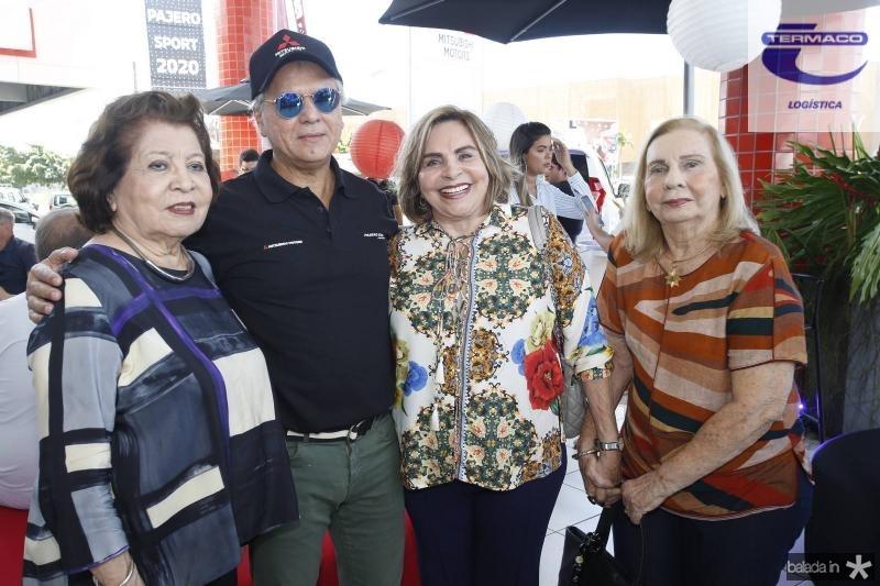 Edyr, Ricardo e Marisa Rolim e Maruzia Carvalho