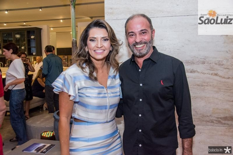 Marcia Travessoni e Marcus Novais
