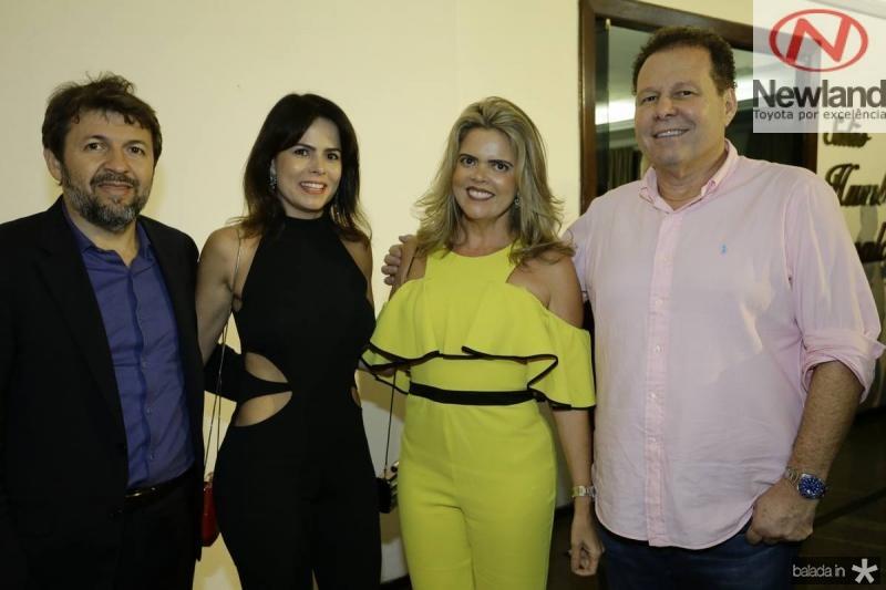 Elcio Batista, Luciana Souza, Valeska Rolim e Julinho Ventura