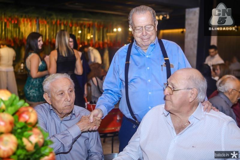 Adauto Bezerra, Edson Ventura e Luis Marques