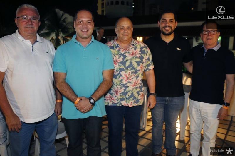 Alcimor Rocha, Heitor Freire, Philomenno Junior, Leonardo Freire e Joao Borges