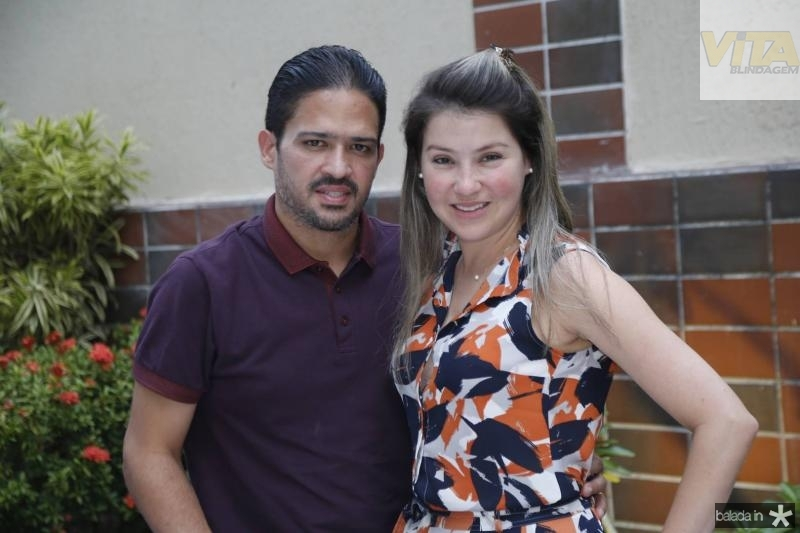 Silvio e Roberta Montezuma