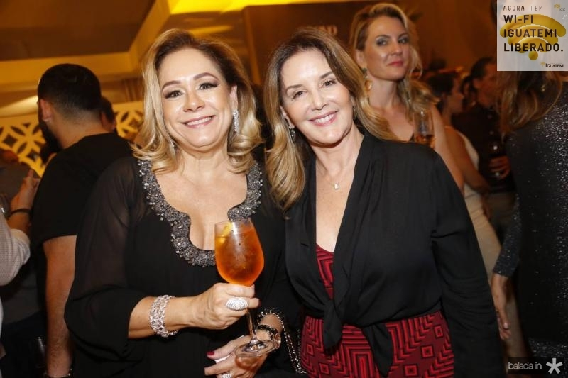 Sarinha Philomeno e Fernanda Mattoso