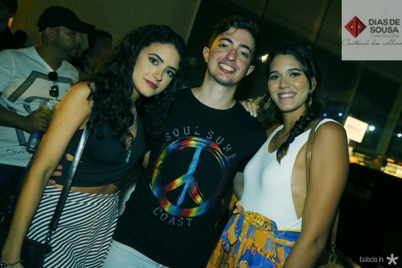 Antonieta Santos, Inario Gomes e Mariana Martins