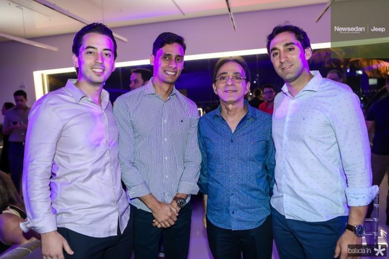 Victor Moreira, Servolo Moreira, Dalton Guimaraes e Luis Guimaraes