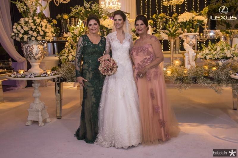 Ines Gladstone, Manoela Gladstone e Tereza Barbosa