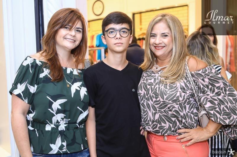 Nana Lima, Musio Neto e Beth Pinto