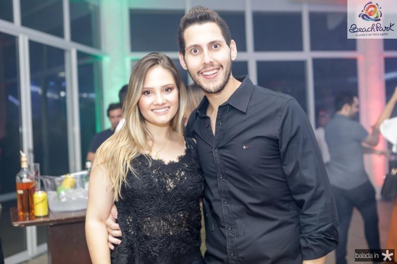 Laticia Teixeira e Gabriel Dias Branco