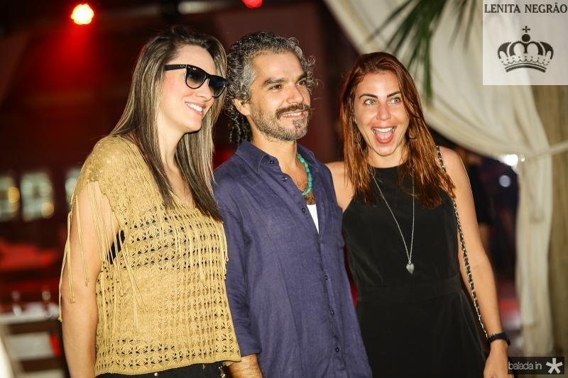 Cla Pessoa, Andre Lra e Tania Saraiva
