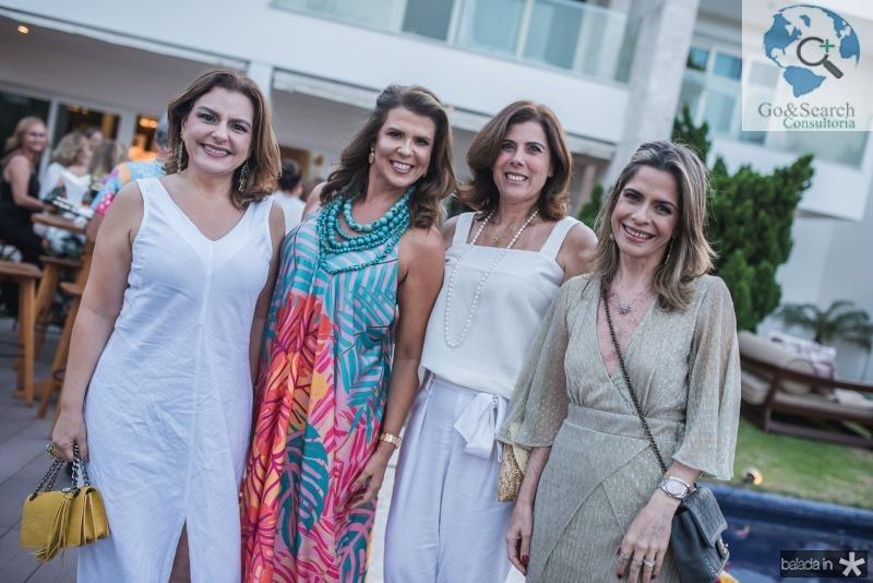 Roberta Ary, Alexandra Pinto, Nara Amaral e Carla Nogueira