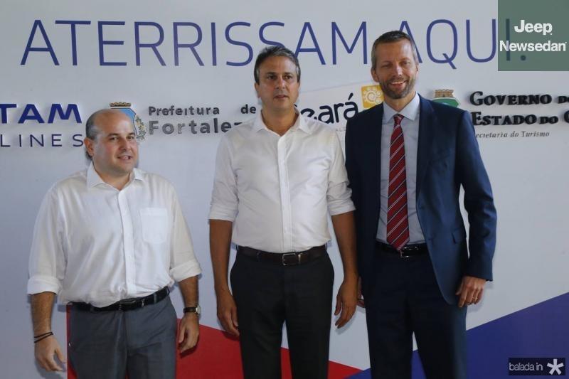 Roberto Claudio, Camilo Santana e Jerome Cardie 1